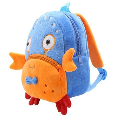 mochila infantil cangrejo