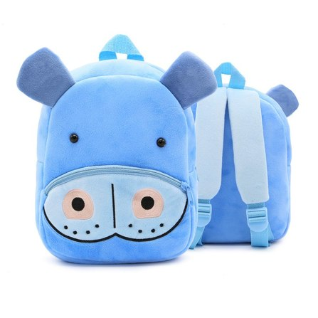 mochila infantil hipopotamo