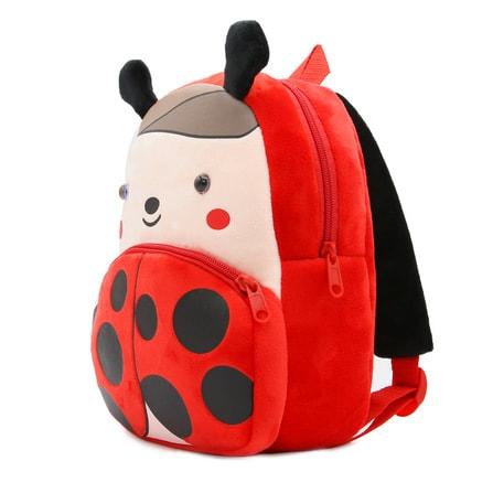 mochila infantil mariquita