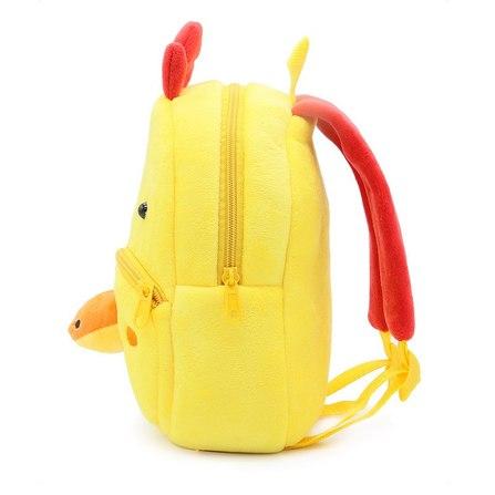 mochila infantil pollo