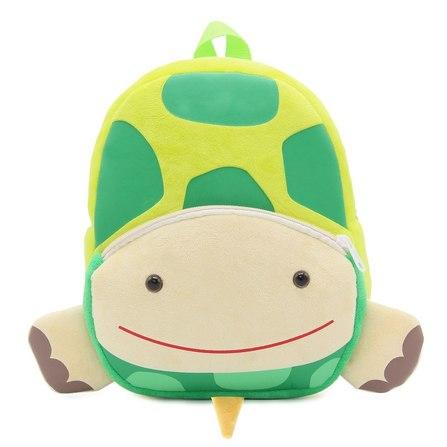 mochila infantil tortuga