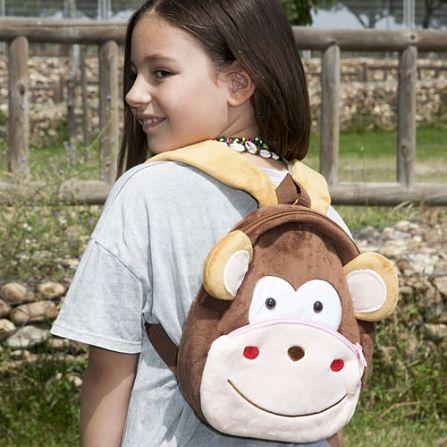 mochila infantil mono