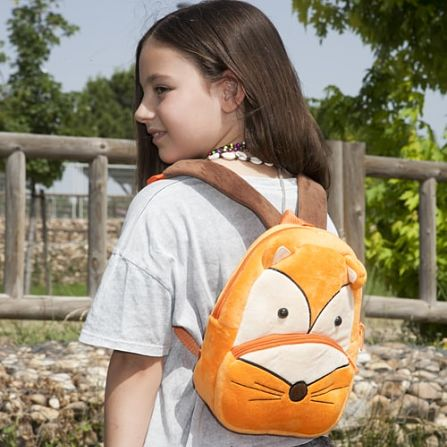 mochila infantil zorro