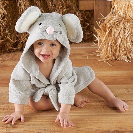 albornoz infantil raton