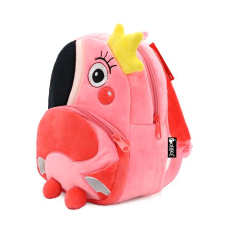 mochila infantil flamingo