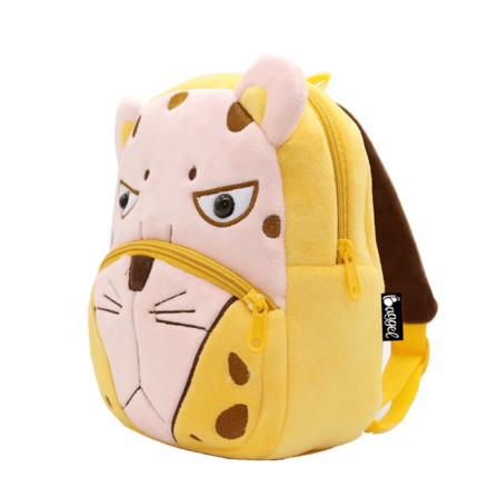 mochila infantil leopardo